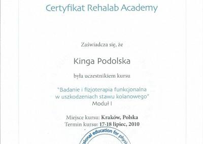 Certyfikat Kinga Podolska4