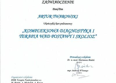 Artur Twarowski dyplom16