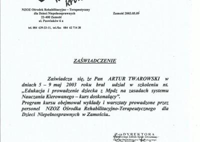 Artur Twarowski dyplom12