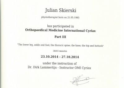 Dyplom julian skierski2