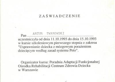 Artur Twarowski dyplom10