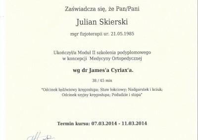 Dyplom julian skierski6