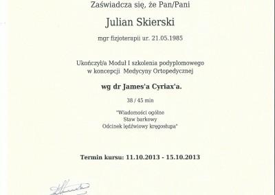 Dyplom julian skierski7