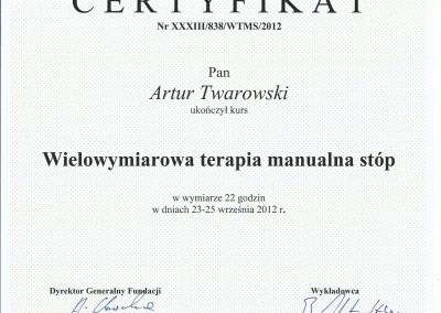 Artur Twarowski dyplom5