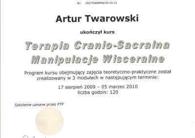 Artur Twarowski dyplom23