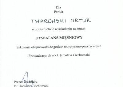 Artur Twarowski dyplom20