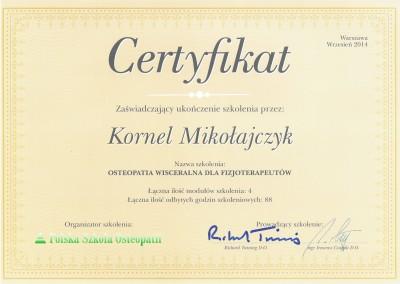 Kornel Mikołajczyk - osteopatia i rehabilitacja dla fizjoterapeutów