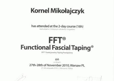 Kornel Mikołajczyk - kurs terapia funkcjonalna