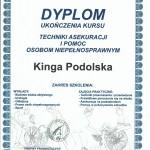 Certyfikat Kinga Podolska12