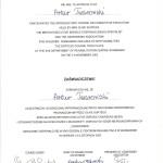 Artur Twarowski dyplom8