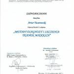 Artur Twarowski dyplom