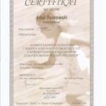 Artur Twarowski dyplom21