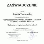 Natalia twarowska kurs fizjoterapia