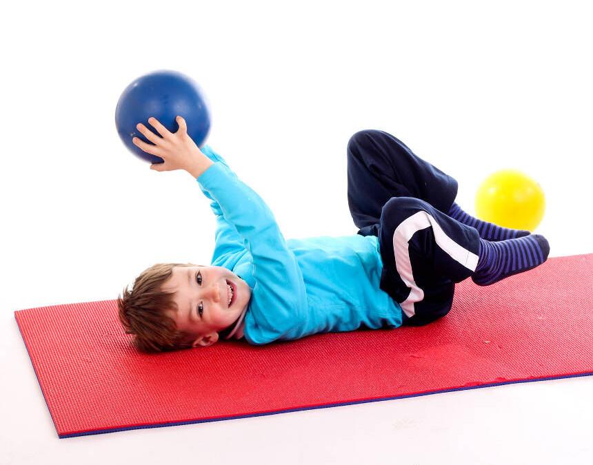 Rehabilitacja wady postawy u dzieci