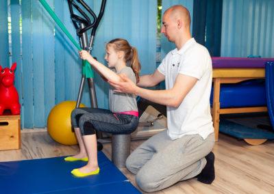 rehabilitacja wady postawy dzieci młodzież warszawa bielany
